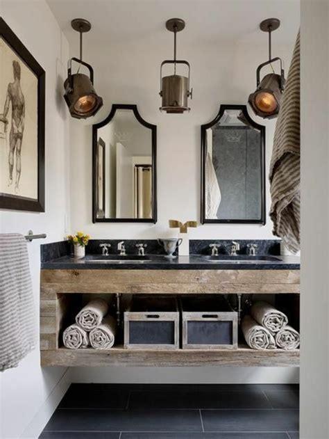 idee meuble salle de bain le meuble sous lavabo 60 id 233 es cr 233 atives archzine fr