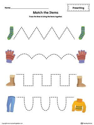 pattern tracing worksheets pre writing printable