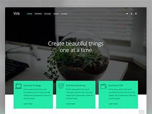 virb free html5 multi purpose website template uicookies With virb templates