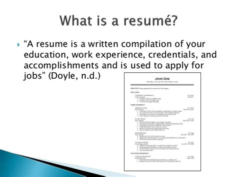 What Does Career Focus On A Resume by Experience To Paper A Resume Recipe For The Student Leader