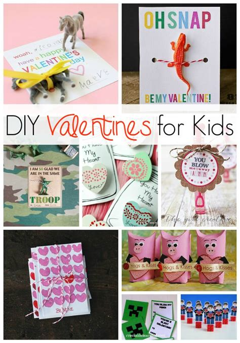 This year is going to be different, darn it! DIY Valentines for kids to make and give
