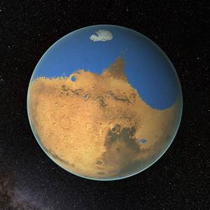 Mars And More : research suggests mars once had more water than earth 39 s arctic ocean ~ A.2002-acura-tl-radio.info Haus und Dekorationen