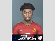 Angel Gomes Face Manchester United PES 2019 PATCH PES New Patch Pro Evolution Soccer PES