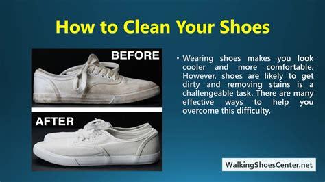 clean shoes  baking soda  peroxide vinegar