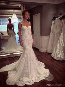 2017 lace mermaid low back wedding dress sexy lace bridal With sexy back wedding dress