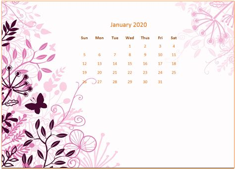 january  desktop calendar wallpaper calendar