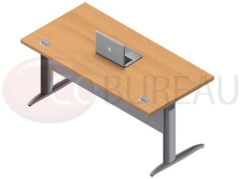 bureau pro ofis bureau semi pro 137cm blanc et gris achat