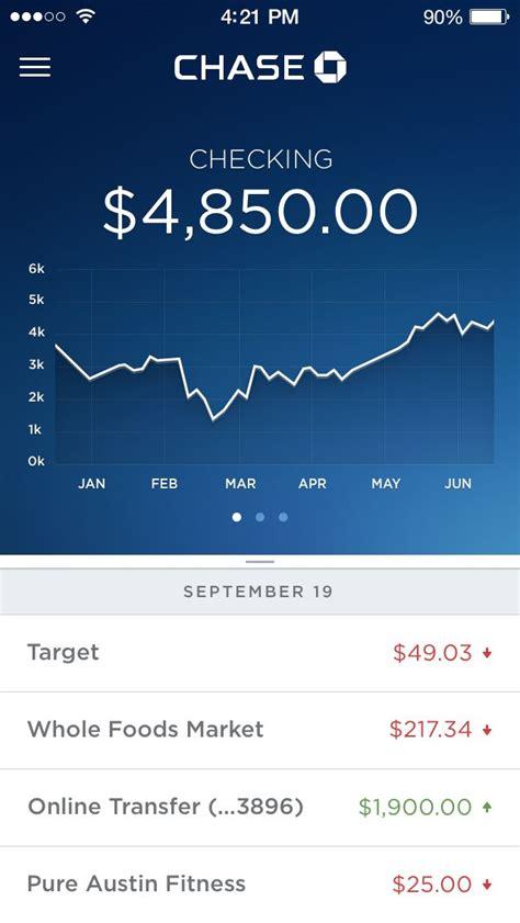 dribbble account fullpng  sam chase bank app
