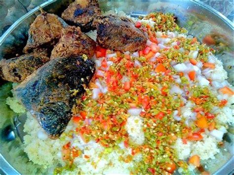 recette de cuisine camerounaise côte d 39 ivoire le garba est l 39 un des plats les plus