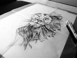 Dessin D Hirondelle Pour Tatouage : 1001 id es en photos de tatouage lion inspirez vous de ~ Melissatoandfro.com Idées de Décoration
