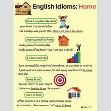 Common Idioms About The House And Home In English  Esl Buzz