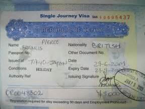 kenyan visa vissaguide vissaguide With requirements for passport kenya