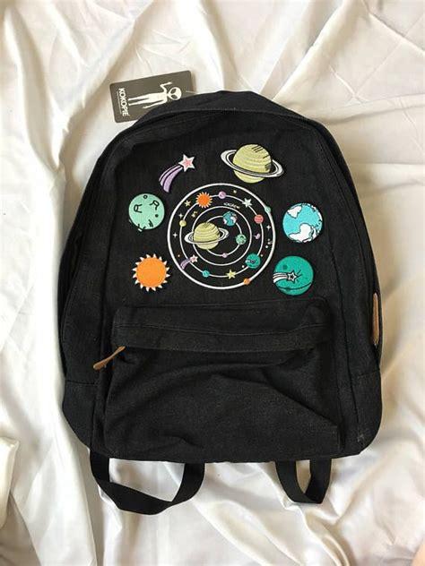 grunge backpack ideas  pinterest space