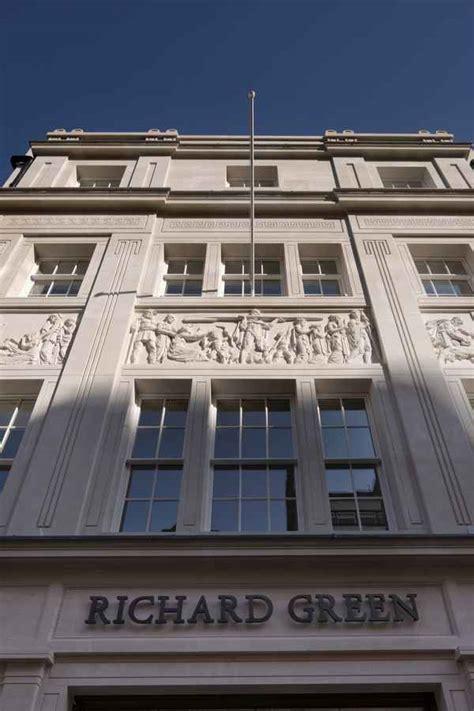 Richard Green Gallery  Bond Street Mayfair  Architect