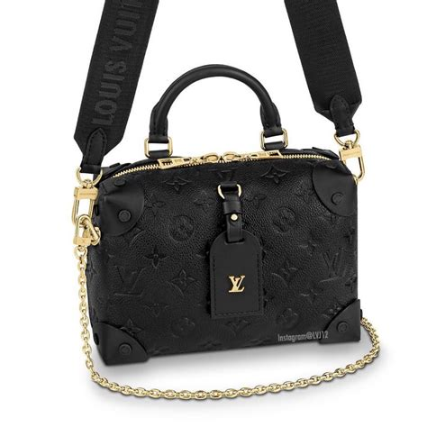 louis vuitton petite malle souple bag reference guide spotted fashion