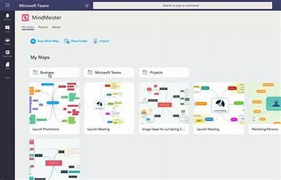 Teams Microsoft Mind Create Maps Map Mindmeister