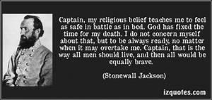 Inspirational Q... Stonewall Jackson Brainy Quotes