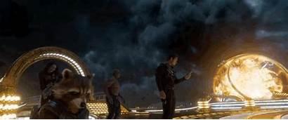 Guardians Galaxy Vol Trailer Ayesha Guns Villains