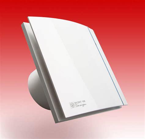 silent  design chz extractor fan  shutter humidistat