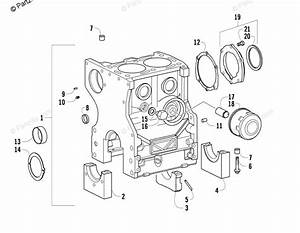 Arctic Cat Atv 2007 Oem Parts Diagram For Crankcase