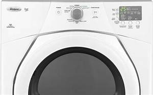 Whirlpool Wed9151yw 27 Inch Electric Dryer With 6 7 Cu  Ft