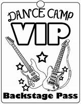 Dance Coloring Hop Hip Rock Camp Vip Word Colouring Sheets Passes Dye Tie Bright Idea Getcolorings Printable Adult Popular Fantastical sketch template