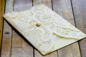 diy ivory lace doily wrapped wedding program 1380171 With wedding invitations wrapped in lace