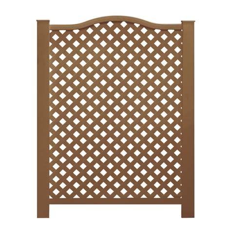 shop barrette cedar vinyl fence panel common
