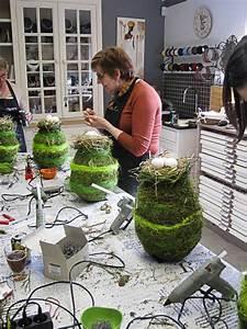Frühjahrsdeko Selber Machen : die besten 25 grabschmuck ideen auf pinterest kunstblumen deko kreativbeton und betonieren ~ Frokenaadalensverden.com Haus und Dekorationen