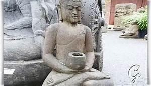 Garten Buddha Frostsicher : wertvolle sitzende buddhafigur aus stein unikat ~ Markanthonyermac.com Haus und Dekorationen