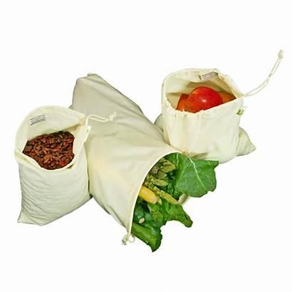 Bags Produce Reusable Muslin Ecology Simple