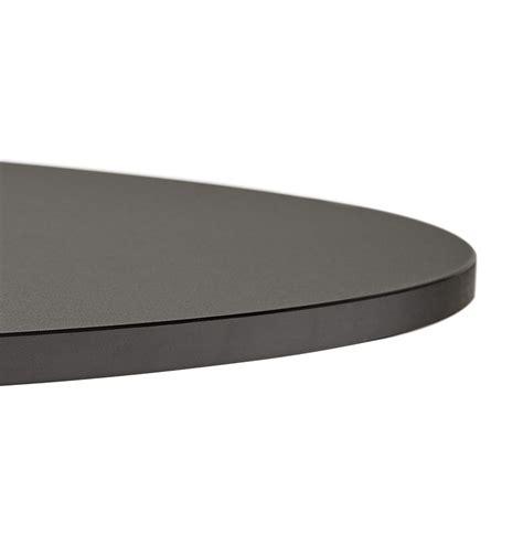 ronde zwarte eettafel ronde zwarte bureautafel saopolo 120 cm eettafel