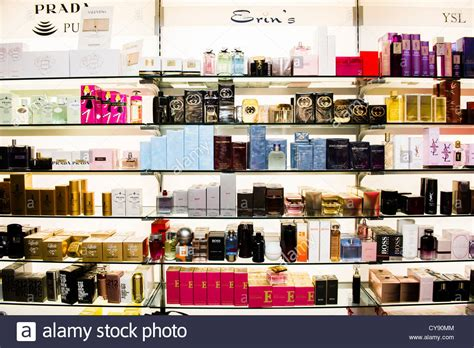 Jars And Bottles Of Perfumes On Shelves Interior Perfume