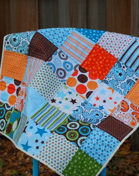 baby quilt patterns all charm quilt favequilts
