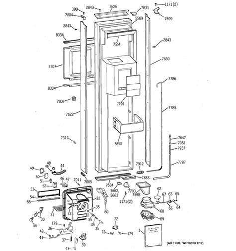 ge ziswdse parts list coast appliance parts