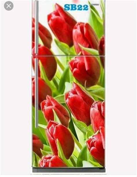 gambar bunga tulip merah