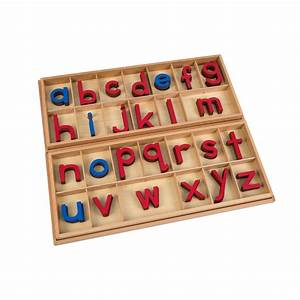 large movable alphabet red blue ljla010 by leader With movable alphabet letters