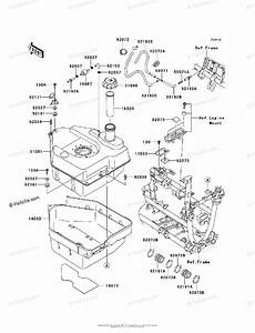 Kawasaki Atv 2012 Oem Parts Diagram For Fuel Tank