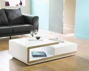 Table Basse Blanche Design : table basse design delta blanche ~ Preciouscoupons.com Idées de Décoration