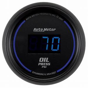 Auto Meter 6927 Cobalt Digital Oil Pressure Gauge