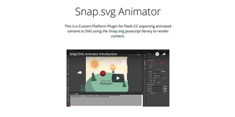 Svg, or scalable vector graphics, is an application of xml to provide vector graphical information in a lightweight form. Amazing SVG Animation Tools And Libraries » CSS Author