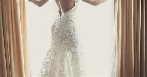 Lace Wedding Dress Open Back Say