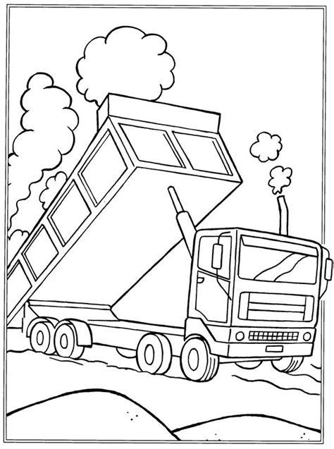 Kleurplaten Vrachtwagen Met Kraan by Kleurplaat Vrachtwagen Met Kraan Tropicalweather