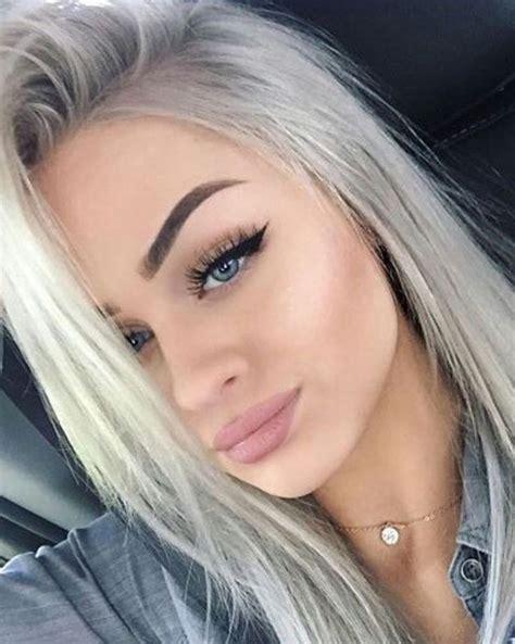 1000 Ideas About Grey Ash Blonde On Pinterest Ash Blonde