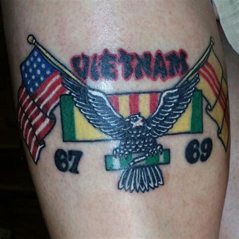vietnam veteran army tattoo tattoos  topher tattoos