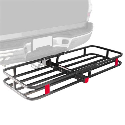 receiver hitch rack apex steel basket cargo carrier rs