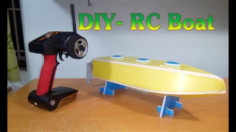 Rc Boats How To Make by Tutorial How To Make Rc Speed Racing Boat