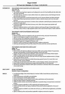 General Resume Objectives Specialist Transportation Resume Samples Velvet Jobs