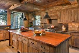 Rustic Kitchen Designs by 15 Warm Cozy Rustic Kitchen Designs For Your Cabin