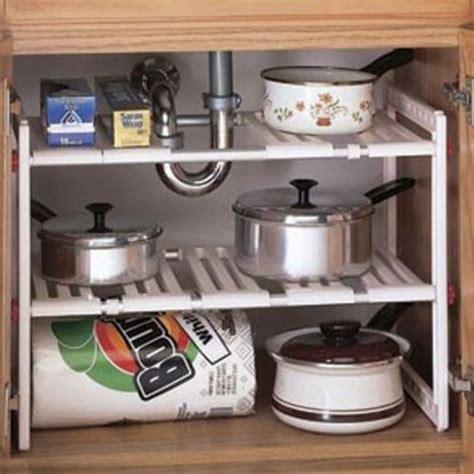 kitchen sink organizer shelf sink expandable shelf cabinet storage kitchen